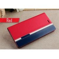 Чехол (книжка) с TPU креплением Stripe series для Doogee Y300/Y300 Pro Красный (12037)