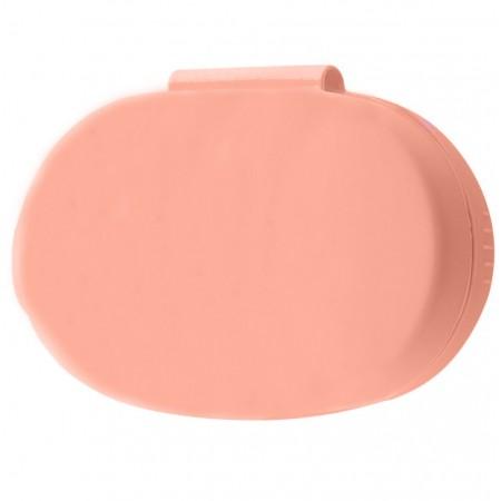 Силиконовый футляр для наушников AirDots Розовый (19569)