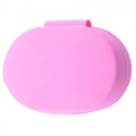 Силиконовый футляр для наушников AirDots Розовый (19561)