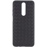 PU чехол-накладка Epik Weaving series для Xiaomi Redmi K30 / Poco X2 Черный (4885)