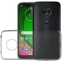 TPU чехол Epic Transparent 1,0mm для Motorola Moto G7 Play Белый (12624)