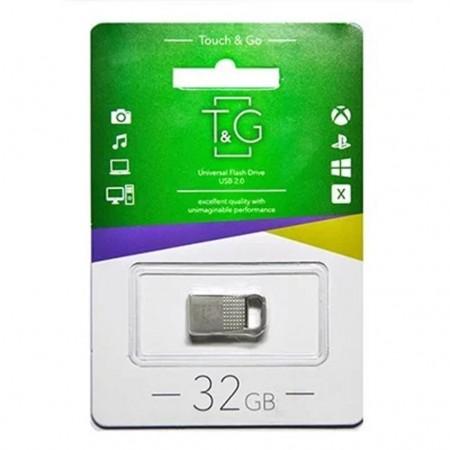 Флеш-драйв USB Flash Drive T&G 113 Metal Series 32GB Серебристый (19804)