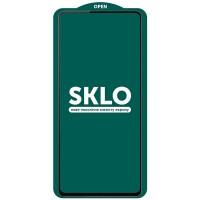 Защитное стекло SKLO 5D (full glue) (тех.пак) для Oppo A74 4G Черный (23200)