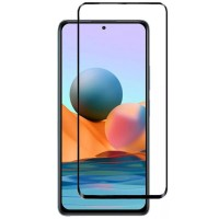 Защитное стекло XD+ (full glue) (тех.пак) для Xiaomi Redmi Note 10 Pro 5G Чорний (23464)