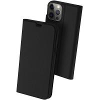 Чехол-книжка Dux Ducis с карманом для визиток для Apple iPhone 13 Pro Max (6.7'') Черный (23627)