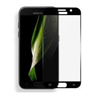 Защитное стекло Rinco для Samsung A3 2017 (A320) Черное (1068)