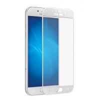 Защитное стекло Rinco для Samsung A3 2017 (A320) Белое (1068)