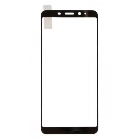 Защитное стекло Full Cover для Meizu M6s BLACK (черное)
