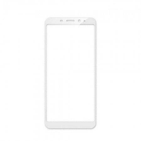 Защитное стекло Full Cover для Meizu M6s WHITE (белое)