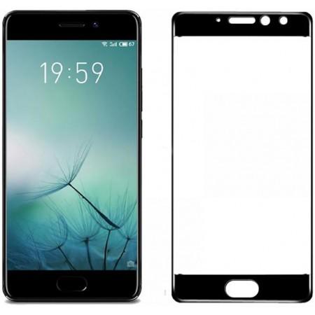 Защитное стекло Full Cover для Meizu Pro 7 BLACK (черное)