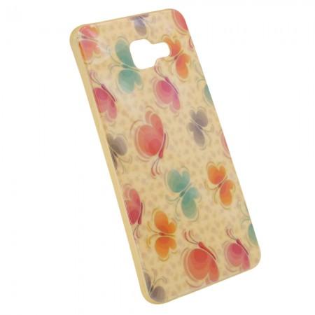 Чехол для Samsung A5 2016 A510 Цветы (1024)