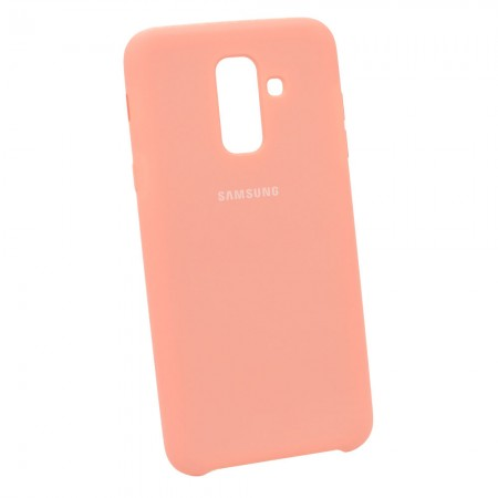 Чехол Soft-touch для Samsung A6+ 2018 A605f Розовый (3613)