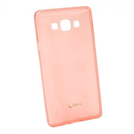 Чехол для Samsung A7 2015 A700 Розовый (808_2)