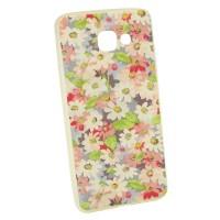 Чехол для Samsung A7 2016 A710 Цветы (977)