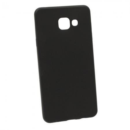 Чехол для Samsung A7 2016 A710 Soft-touch Черный (979)