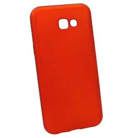 Чехол для Samsung A7 2017 A720 Красный (3255_2)