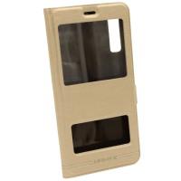 Чехол-книжка для Samsung A7 2018 A750 Momax Золотой (3526)