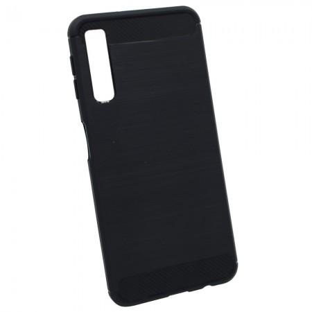 Чехол для Samsung A7 2018 A750 Черный (3632)