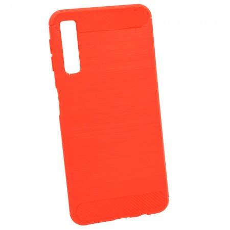 Чехол для Samsung A7 2018 A750 TPU Красный (3633)
