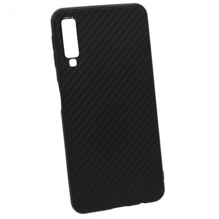 Чехол для Samsung A7 2018 A750 Carbon (3744)