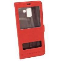 Чехол-книжка для Samsung A8 Plus A730 Momax Красный (3775)