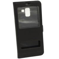 Чехол-книжка для Samsung A8 Plus A730f Momax Чёрный (3780)