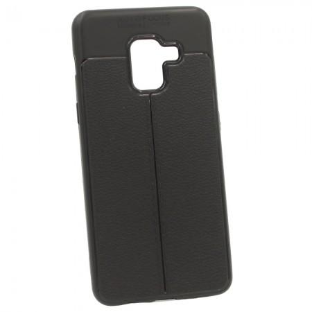 Чехол для Samsung A8 2018 A530F Focus Чёрный (3460)
