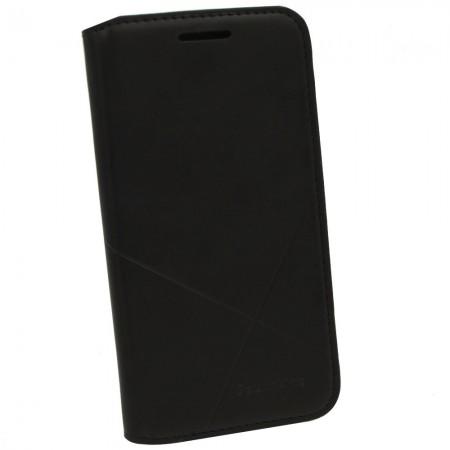 Чехол-книжка для Samsung J2 2015 J200 Flip Черный (1215)