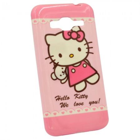 Чехол для Samsung J3 2015 J300 Hello Kitty (1035)