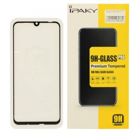 Защитное стекло iPaky для Huawei P Smart 2019 BLACK (Черное)