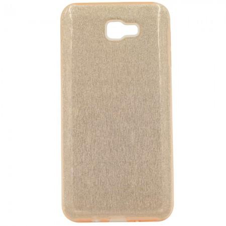 Чехол для Samsung J5 Prime G570f Блестки Розовый (1045)