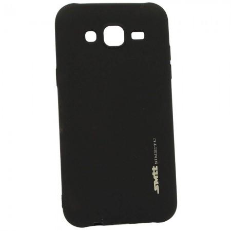 Чехол для Samsung J5 2015 J500 Smtt Черный (2080)