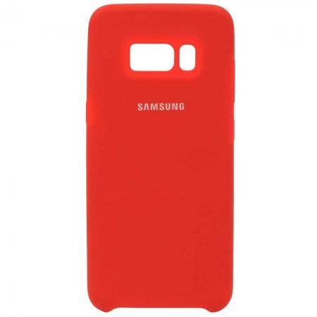 Чехол для Samsung Galaxy S8 Silicone Case Красный (3610)