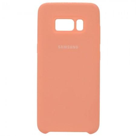Чехол для Samsung Galaxy S8 Silicone Case Розовый (3611)