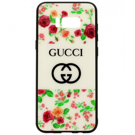 Чехол для Samsung Galaxy S8 Plus Gucci Цветы (3175_2)