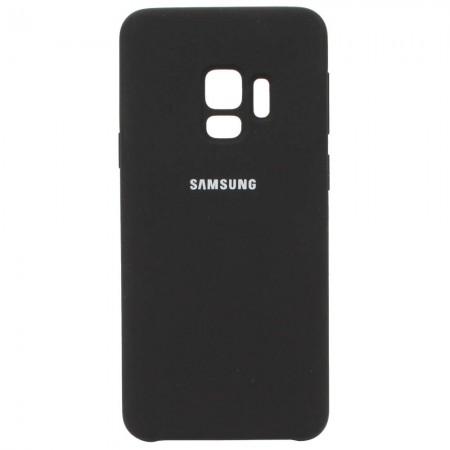 Чехол для Samsung Galaxy S9 Silicone Case Чёрный (3597)