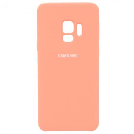 Чехол для Samsung Galaxy S9 Silicone Case Розовый (3598)