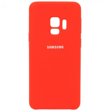 Чехол для Samsung Galaxy S9 Silicone Case Красный (3599)