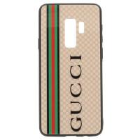 Чехол для Samsung Galaxy S9 Plus Glass Gucci (3174_3)