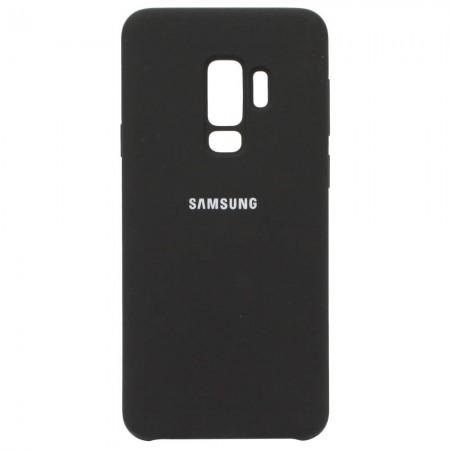 Чехол для Samsung Galaxy S9 Plus Silicone Case Black (3602)