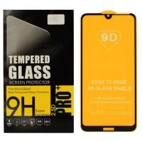 Защитное стекло Digital для Huawei Y7 2019 BLACK Чёрное