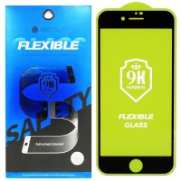 Гибкое защитное стекло BestSuit Flexible для Apple iPhone 7/8 Plus BLACK