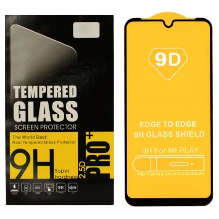 Защитное стекло Digital для Xiaomi Mi Play BLACK Чёрное