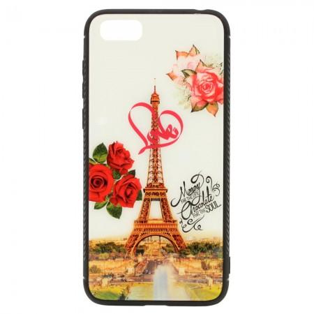 Чехол для Huawei Y5 2018 Рисунок Париж (4212)