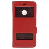 Чехол-книжка Momax для Huawei Nova Красный (2173)