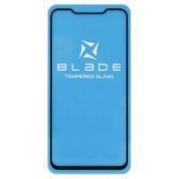 Защитное стекло Blade для Meizu X8 Чёрное (4236)
