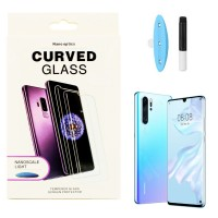 Защитное стекло 5D для Huawei P30 Pro UV (Жидкий клей) (4240)