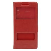 Чехол-книжка Momax для Huawei P8 Красный (2189)