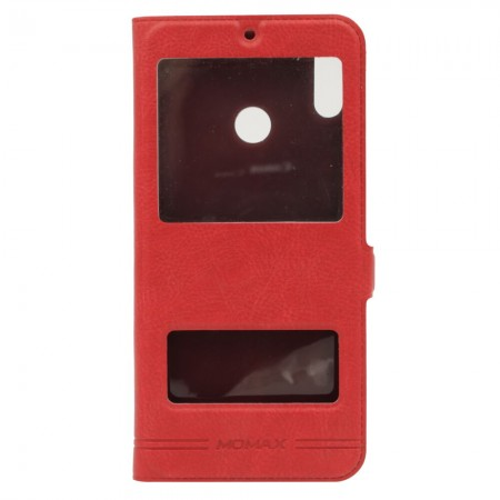 Чехол-книжка Momax для Huawei Honor 8X Красный (3830)