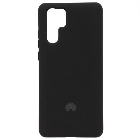Чехол Silicone Case для Huawei P30 Pro Черный (4397)